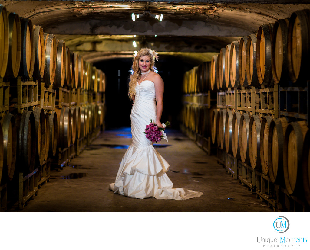 Gig Harbor Photographer Fine Wine Bridal Portrait