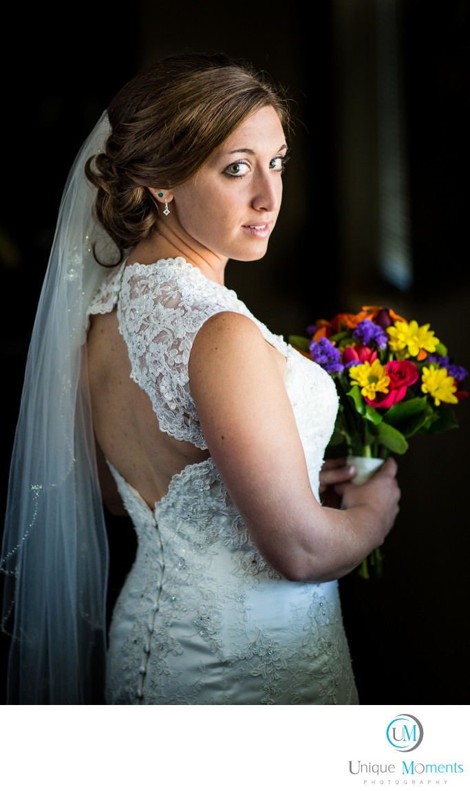 Gig Harbor Wedding Photographer Window Light Portraits