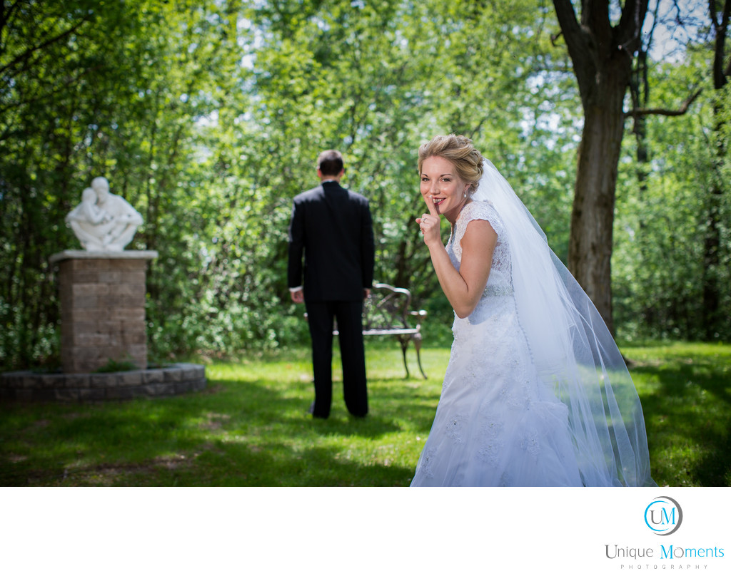 Gig Harbor Wedding Photographer The First look