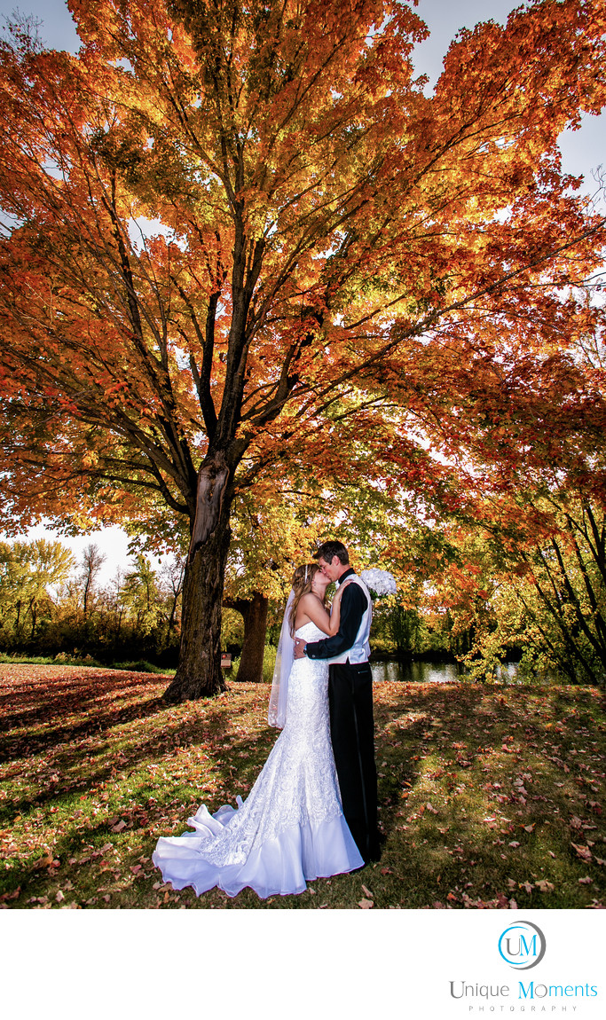 Fall Bridal Pictures Gig Harbor Wedding Photographer