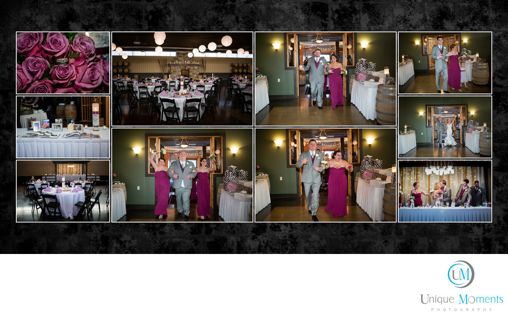Gig harbor Wedding Photographer Album Spread 15 Amy