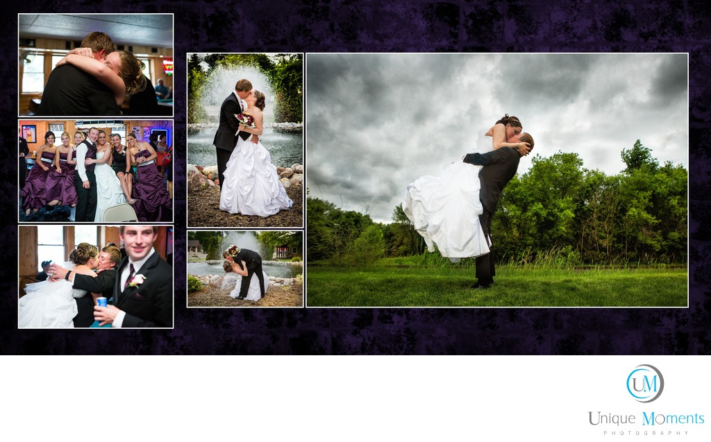 Wedding Photographer Gig Harbor Album sample
