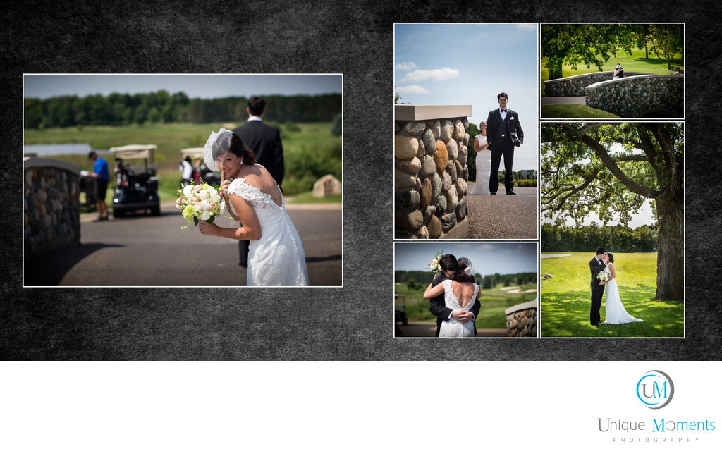 Gig Harbor Photographer, Album Sample, spread 5, JP