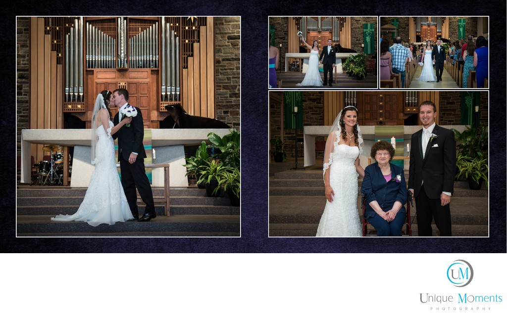 Gig Harbor wedding Photographer, Album spread 12, kiri