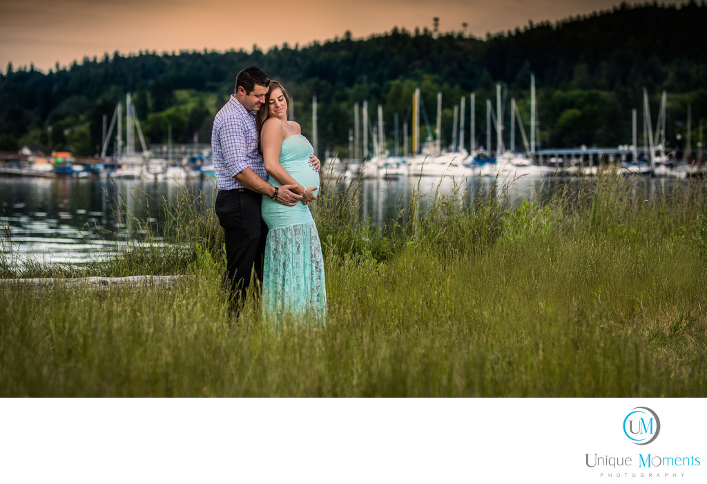 Maternity Portrait Tacoma Seattle Washington