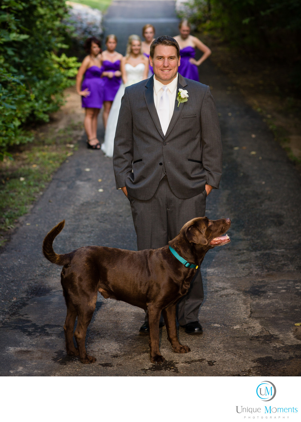 Gig Harbor Wedding Photographer Cushman Trail