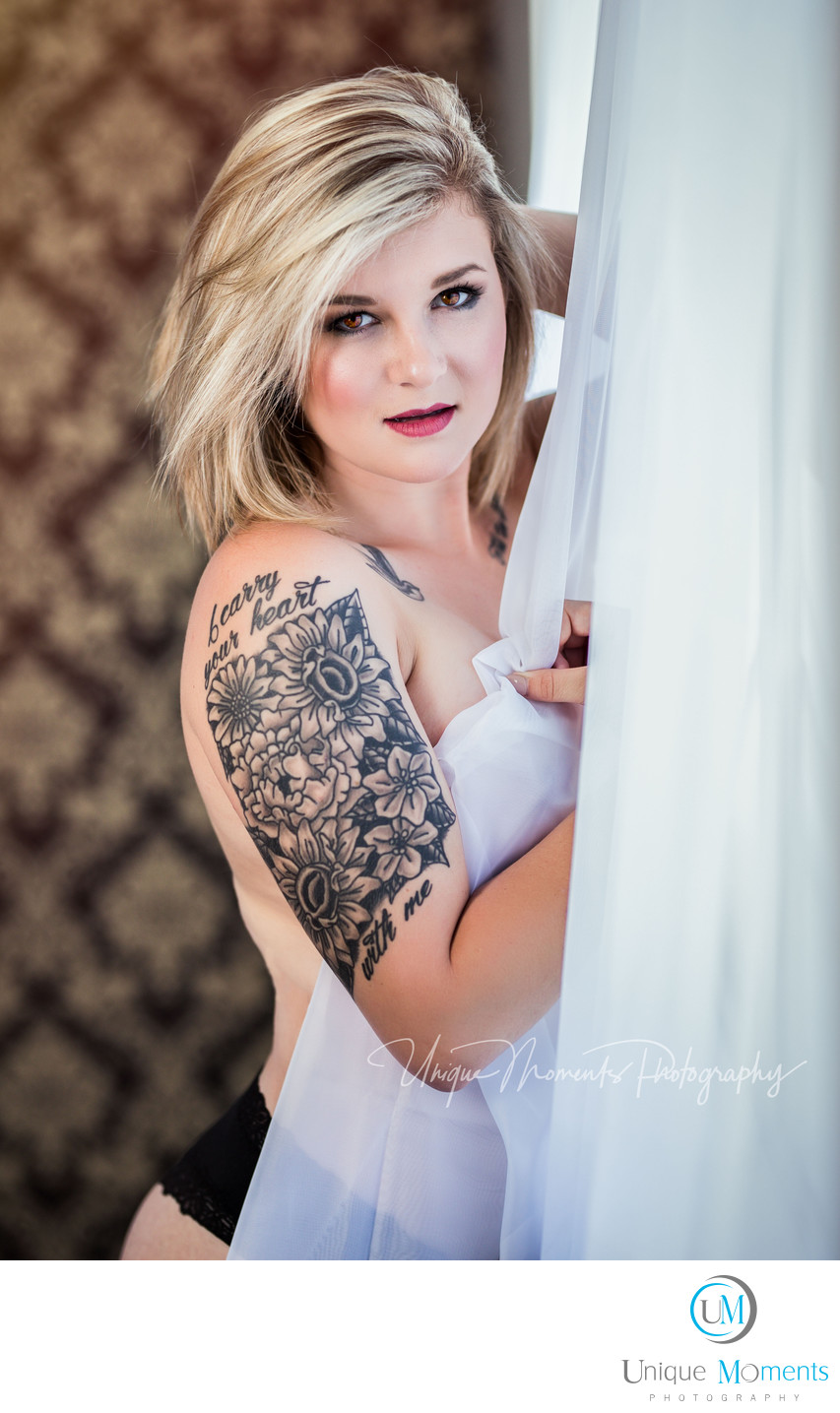 Boudoir style pictures Gig Harbor Wa 98335