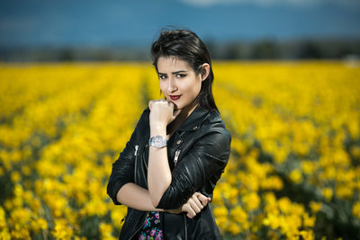 Gig Harbor Senior Photographer Skagit Tulip Fields
