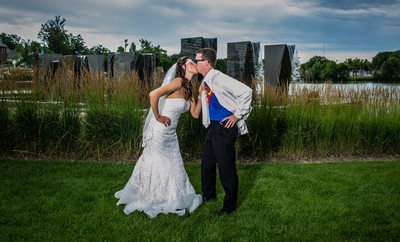 Destination Wedding Photographer Lake George MN