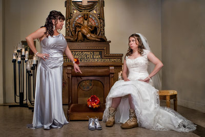 Mother Daughter Wedding Pictures Gig Harbor WA