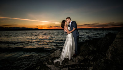 Tacoma Wedding Photographer Discovery Park Seattle