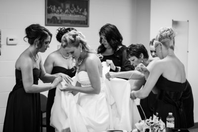 Wedding Photographer Gig Harbor WA Bustle the Dress
