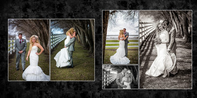 Gig Harbor Wedding Photographer, Album sample 4, Amy