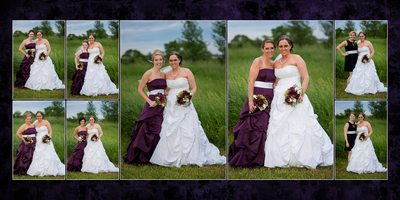 Wedding Album Design Gig harbor WA spread 21