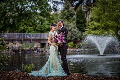 Tacoma Wedding Photographer Wright Park 98045