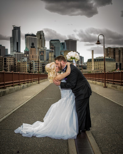 Destination Wedding Photographer Minneapolis MN Stone Arch