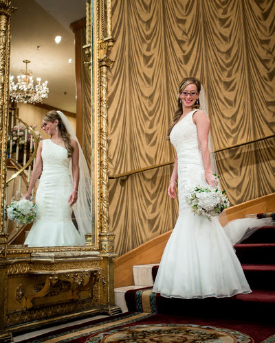 Destination Wedding Photographer St Paul Hotel Minnesota