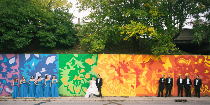 Colorful Indianapolis Wedding