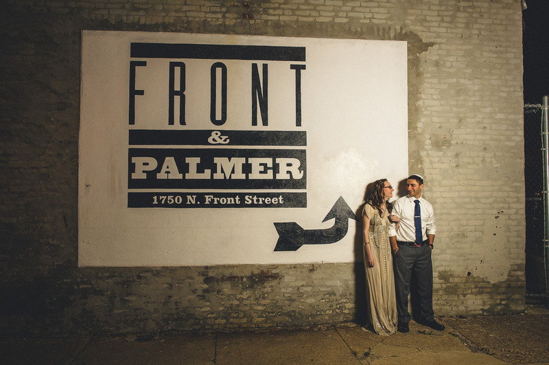 Front and Palmer Philadelphia Wedding