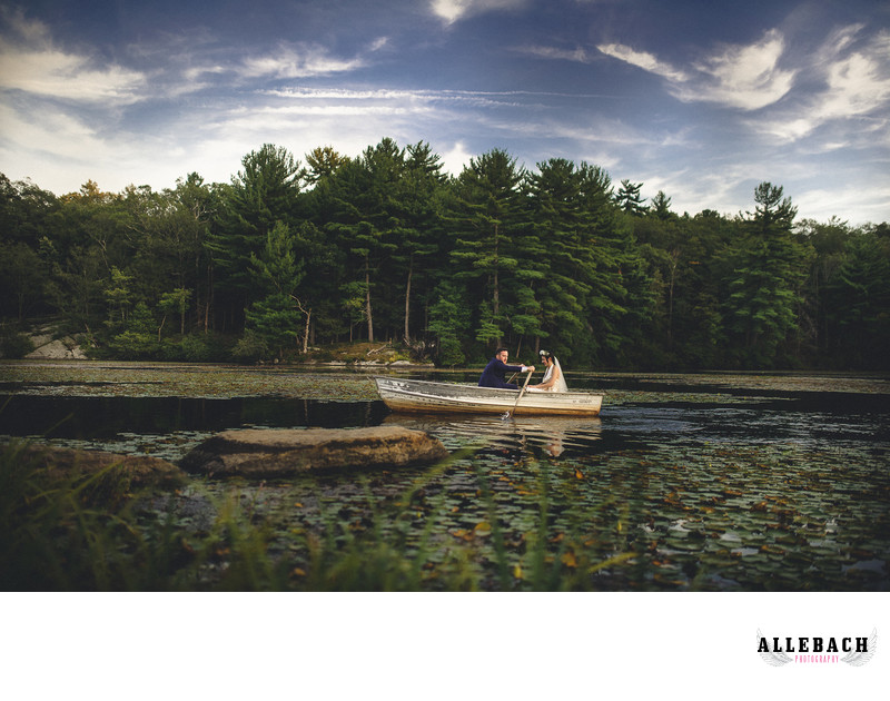 New York Scenic Lake Wedding