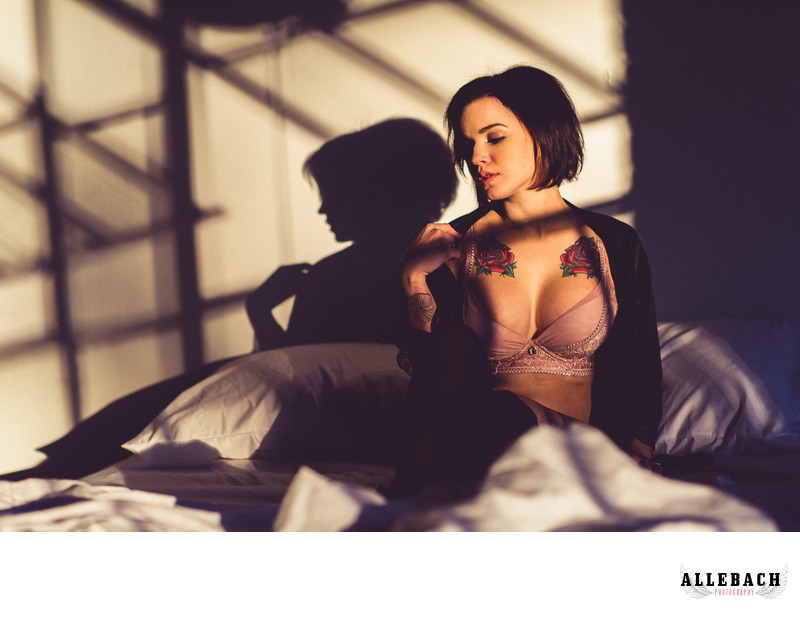 Sunset Boudoir Session
