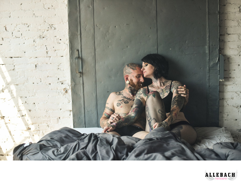 Super Cute Couples Boudoir Photographers