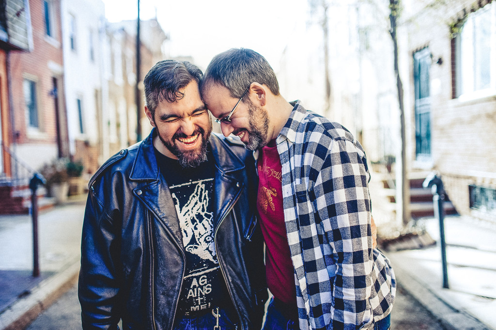 Gay Engagement Photography in South Philly