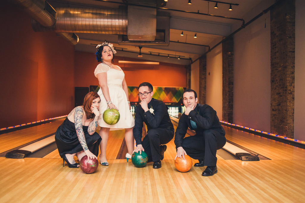 Philly Bowling Wedding