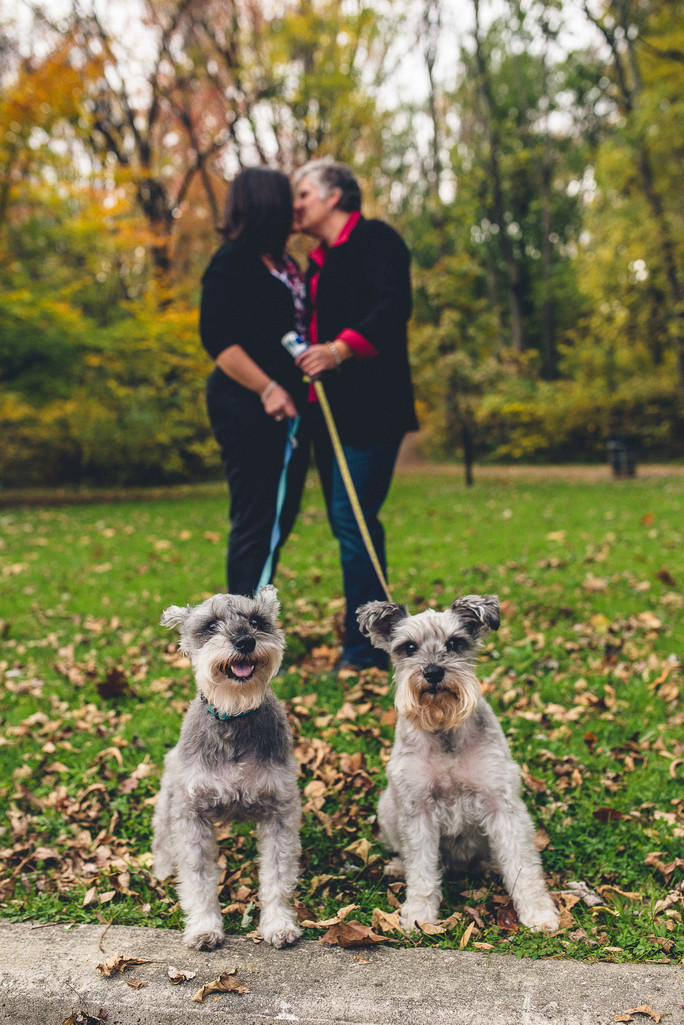Engagement Photos with Dogs in Philadelphia