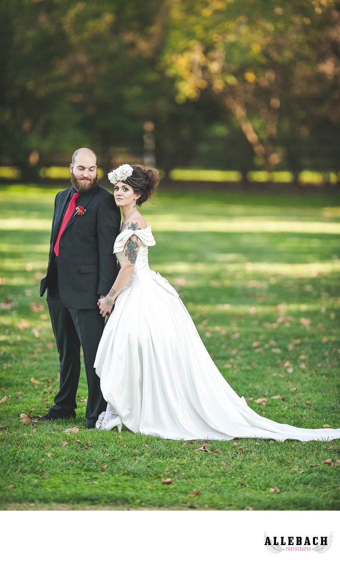 Philadelphia's Tattooed Bride & Groom Photographer