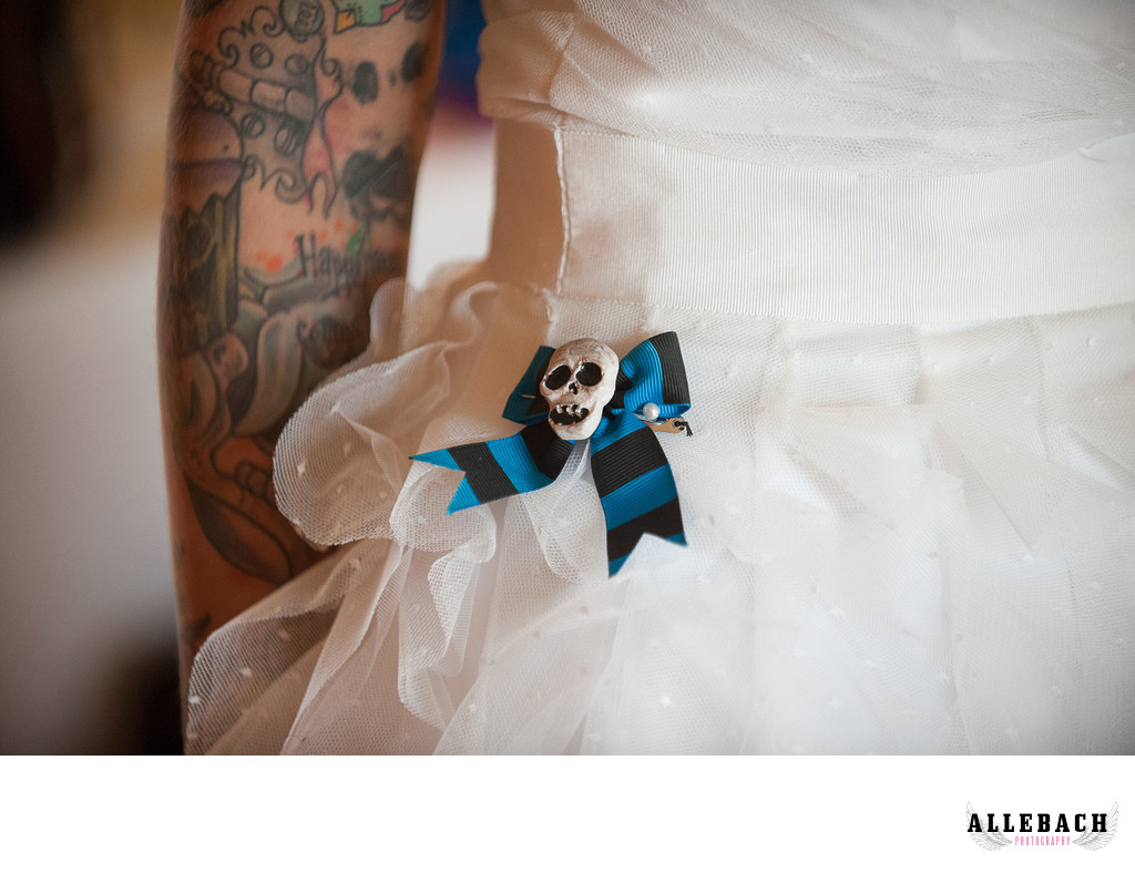 Tattooed Bride and Elopement