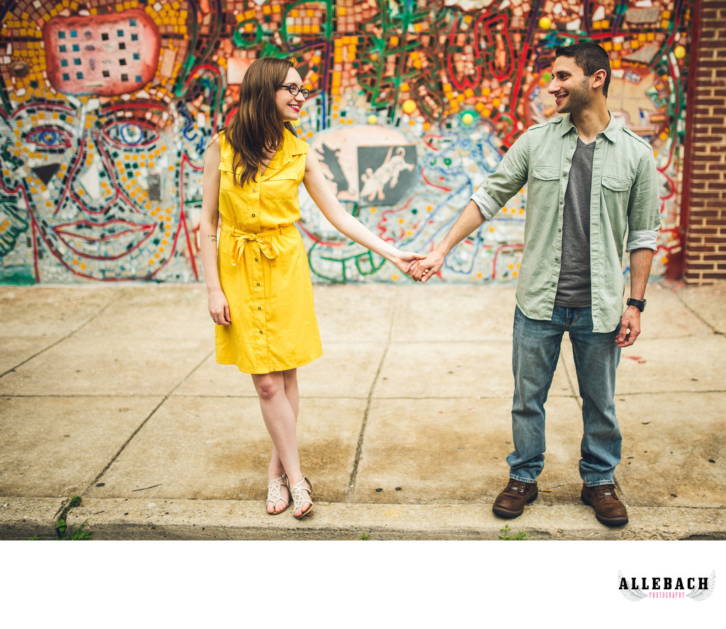 Phillys Magic Gardens South Street Engagement