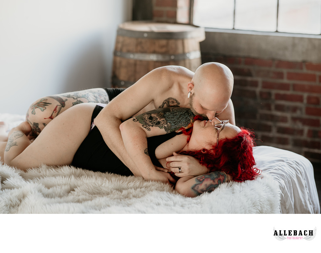 The Best Couples Boudoir Photographer