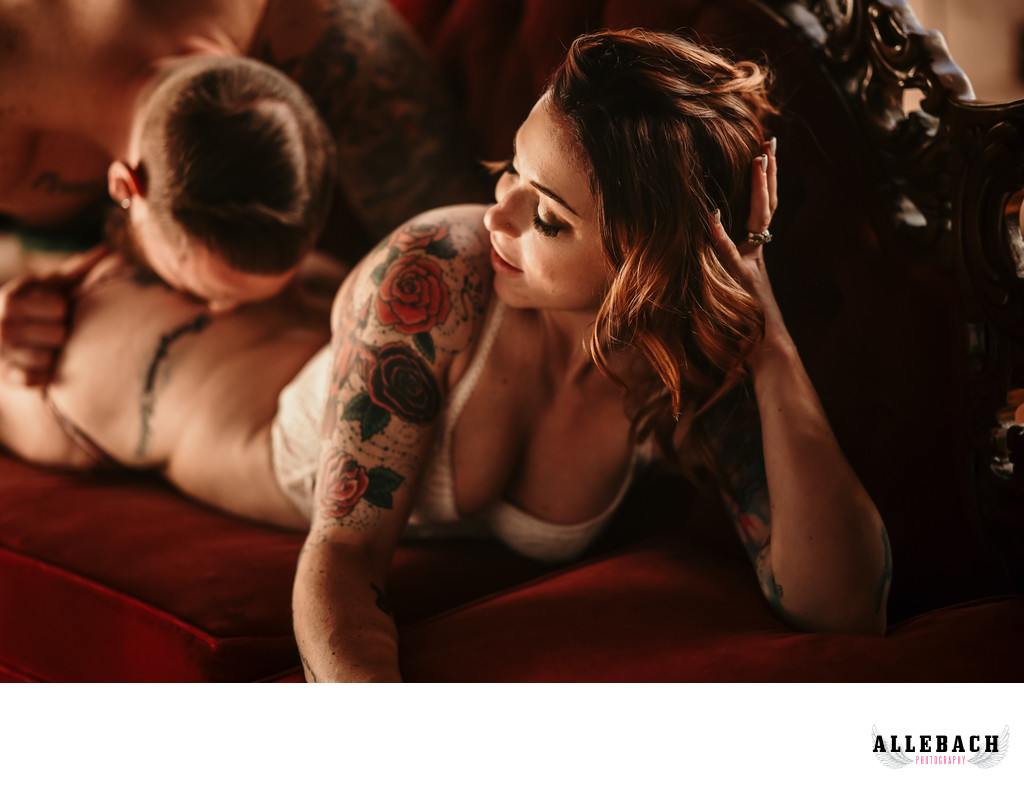 Erotic Couples Boudoir Photography for New York, New Jersey & Philly