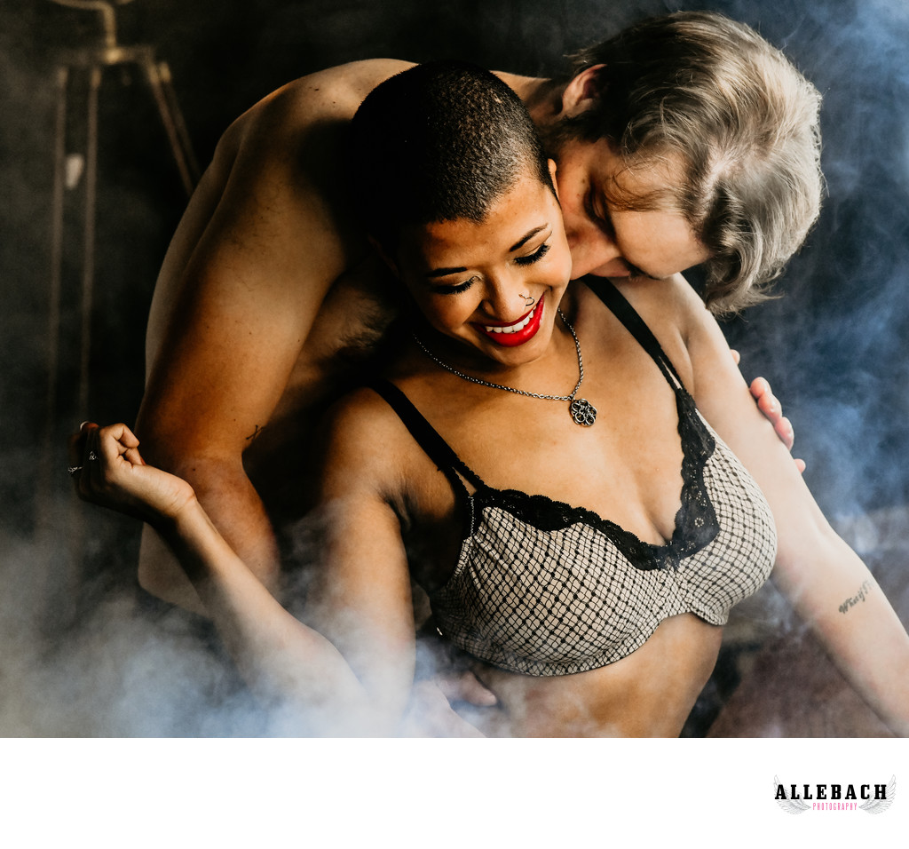 Sexy Couples Engagement & Boudoir