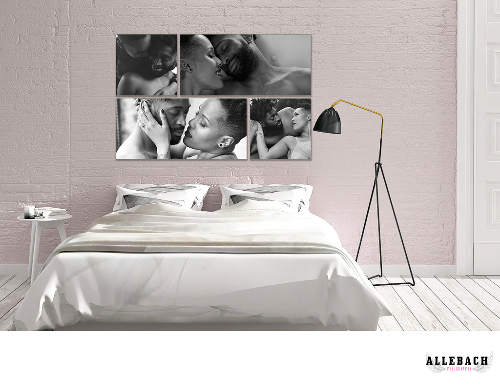 New Jersey Couples Boudoir Wall Art Photographer Studio