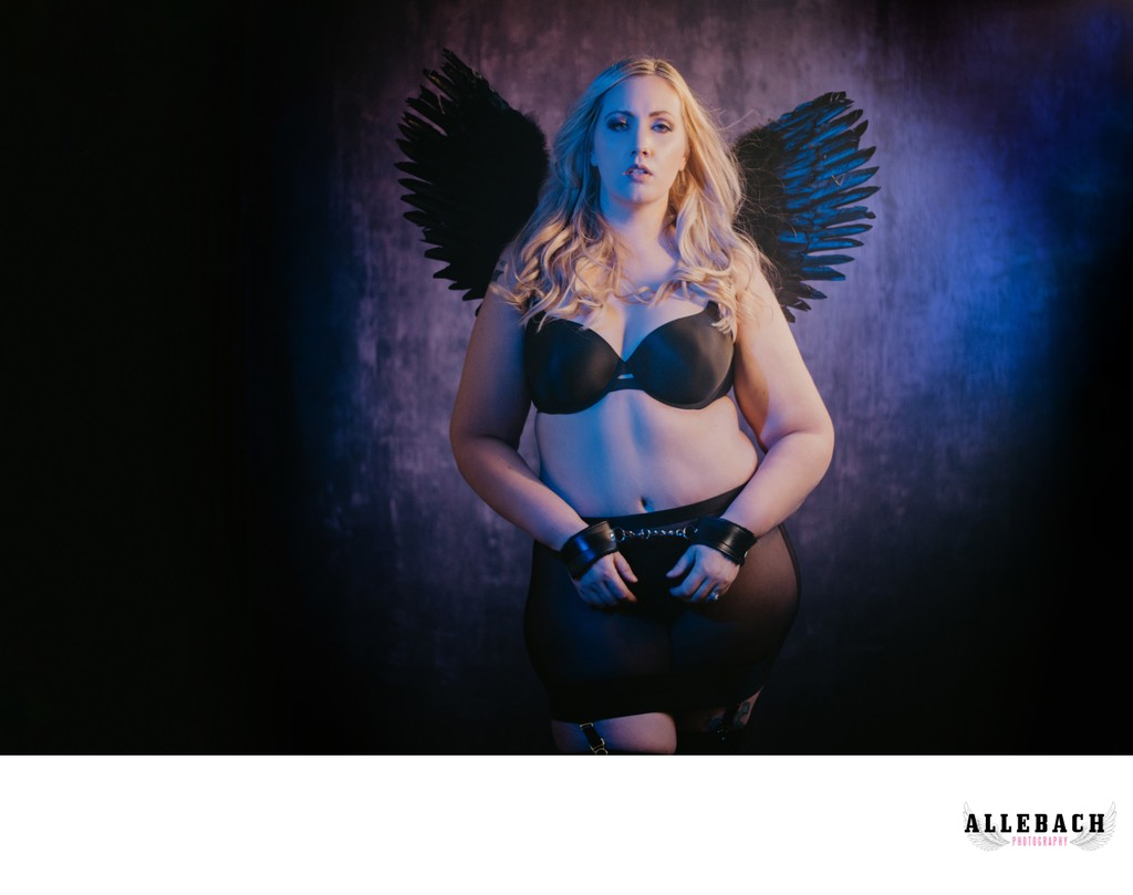 Professional Body Positive Philadelphia Boudoir Studio