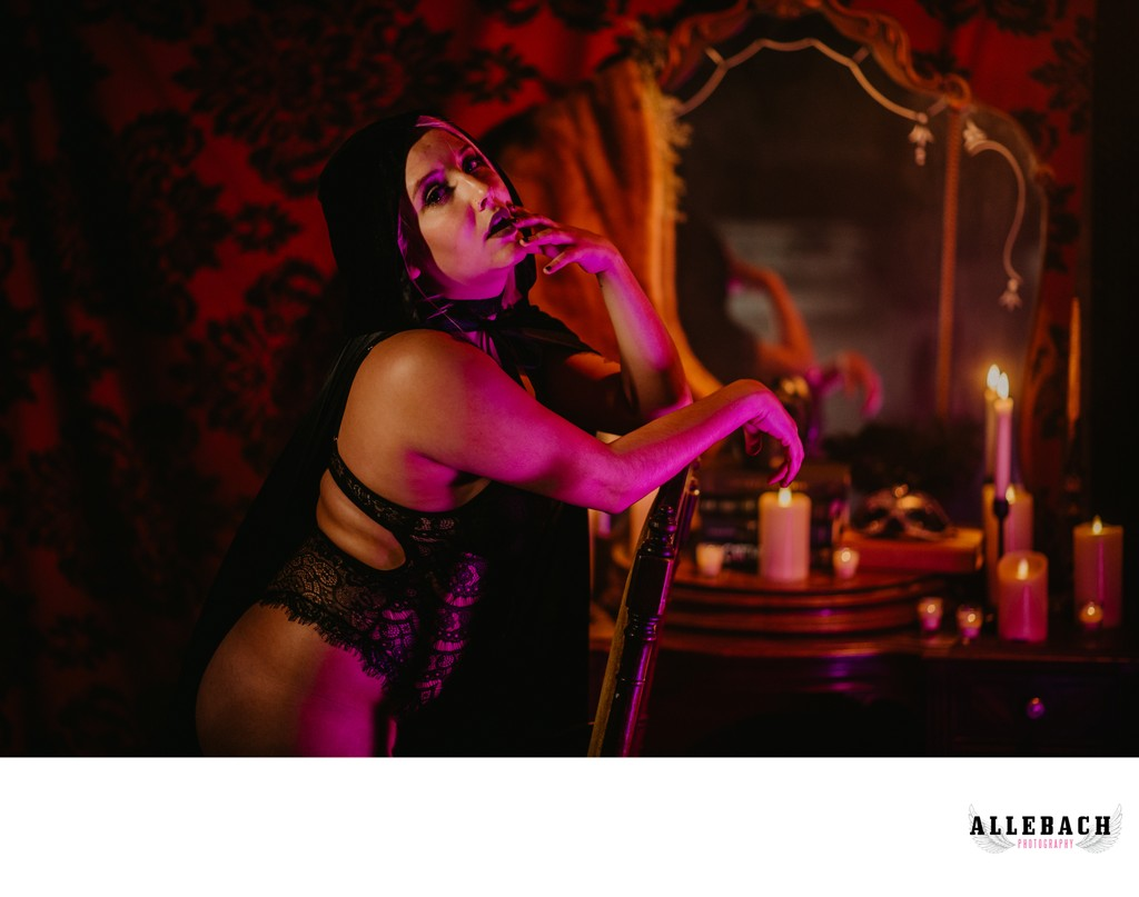 Creative Boudoir - Philly Vampire