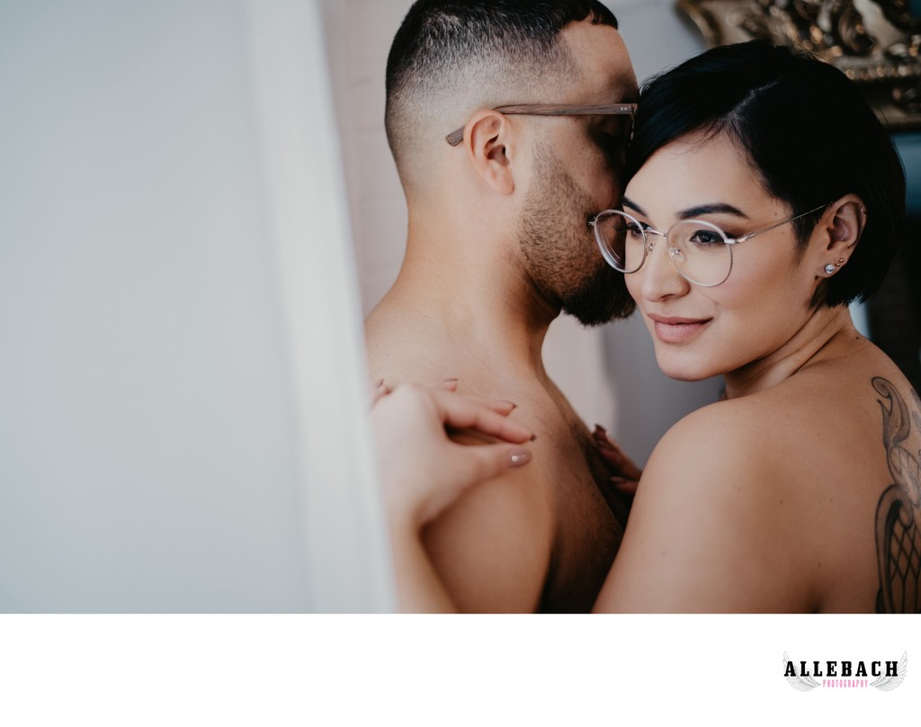 Philly Couples Session with Boudoir