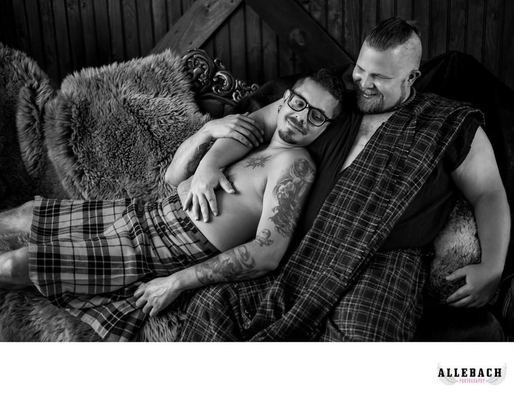 LGBTQ Couples Boudoir Photographers