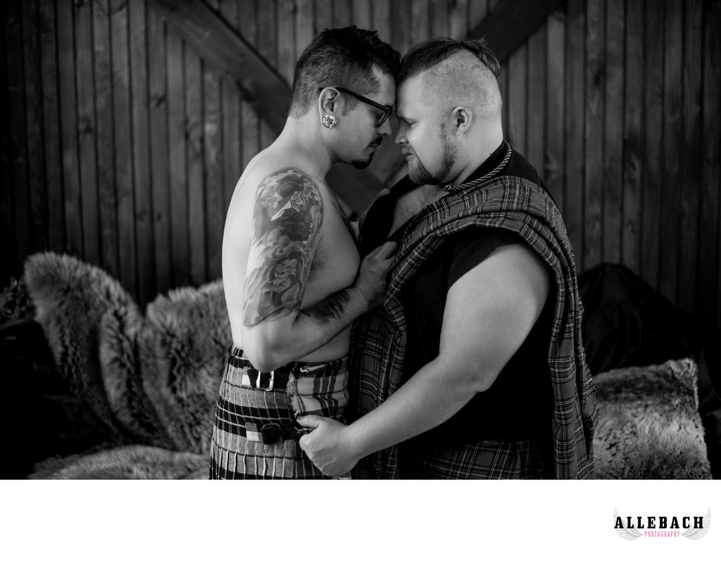 Gay Couples Boudoir Photography