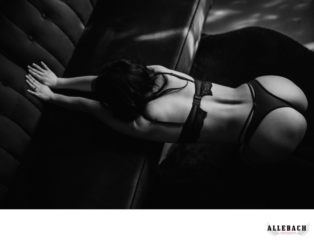 Black and White Boudoir - Philly Area Photographers