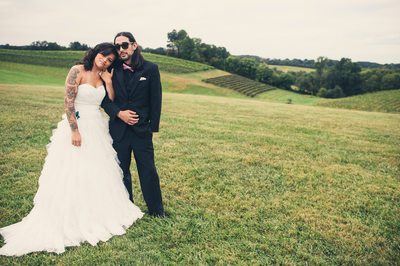 Maryland Linganore Winery Wedding