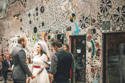 Tattooed Bride Magic Gardens