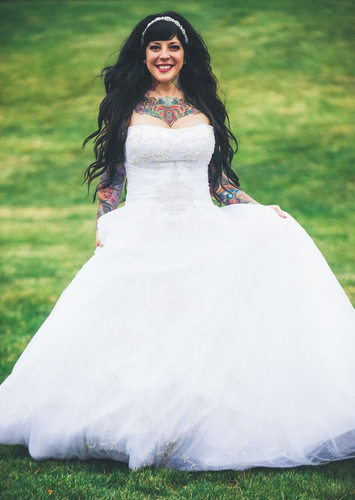 Tattooed Bride Photographer Mike Allebach