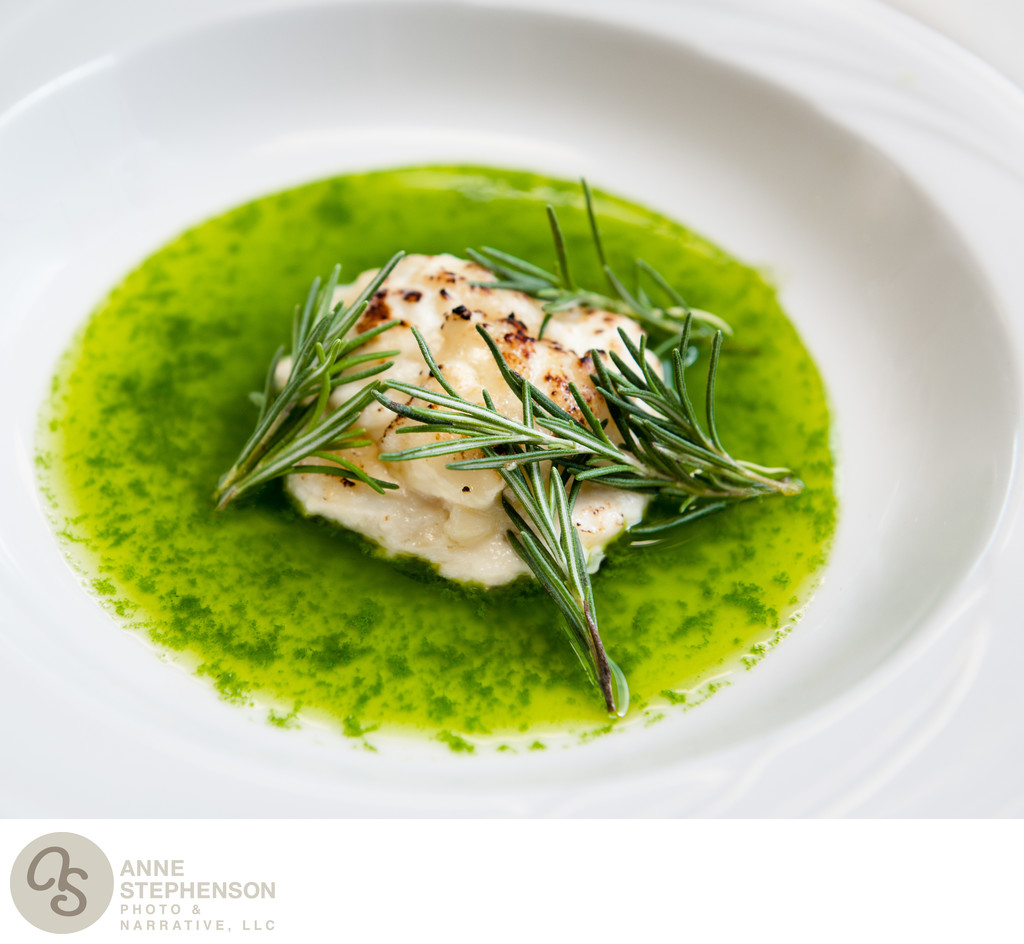 Scallop with Rosemary