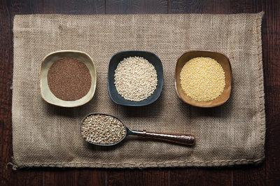 Various ancient grains