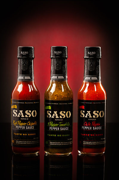Saso Pepper Sauce Made in Colorado