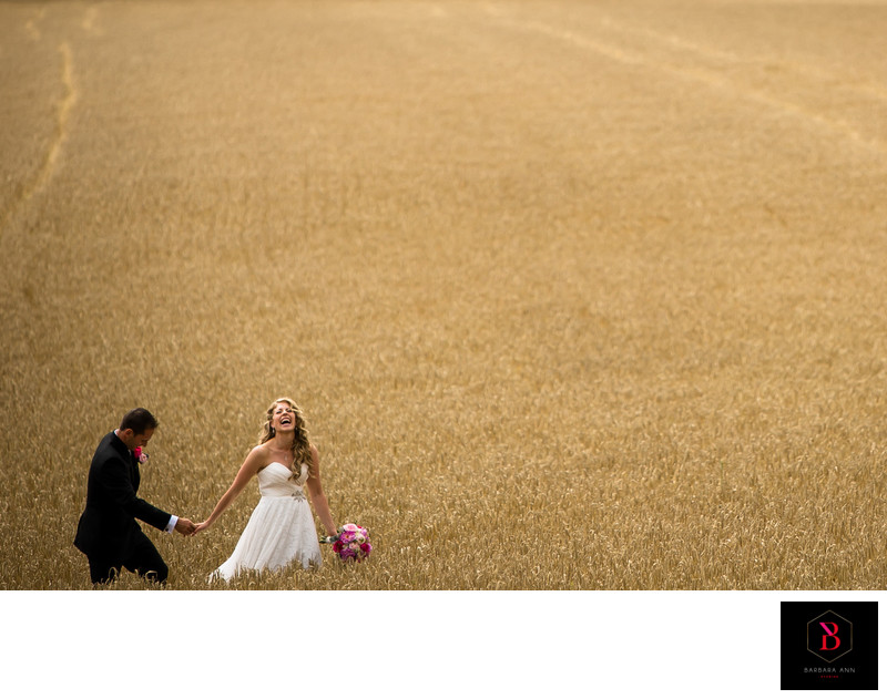 Culinary institute wedding beach wheat field pei