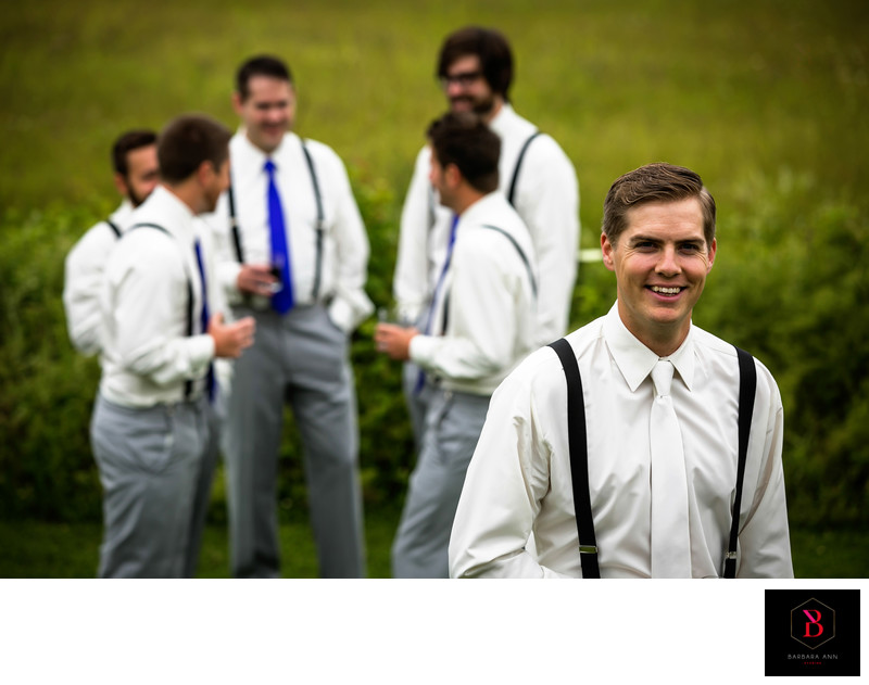 Stanley Bridge Resort groom wedding